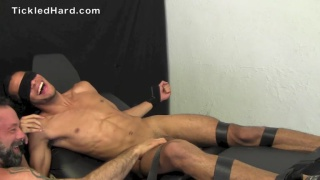drew gets his cute size 10 feet tickled