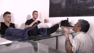teaching the teacher with Tyler Roding, Jimmy T.J, Slave #4