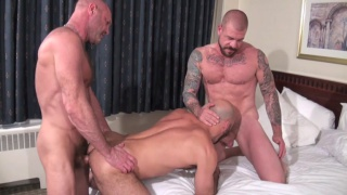 Rocco Steele and Chad Brock spit roast Adam Russo