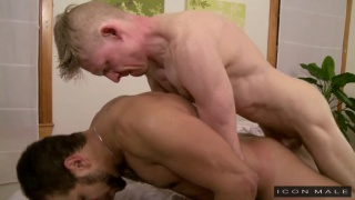 Gay Massage House with Rob Yaeger and  Brock Avery