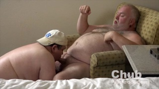 Daddies Hooking Up in a hotel