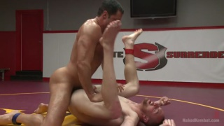 nick capra vs jimmy bullet in naked wrestling