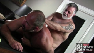 daddies fuck in game of strip billiards