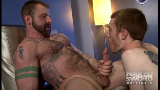 aleks buldocek fucks seamus o'reilly in hotel hook-up