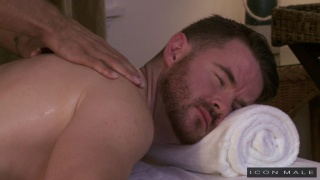 gay massage house with Brendan Patrick & Brock Avery
