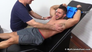 Michael Fitt Tickled Nude