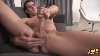 ripped stud Tristan jacks off