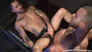 Damien Crosse & Nick Cross fuck in under my skin