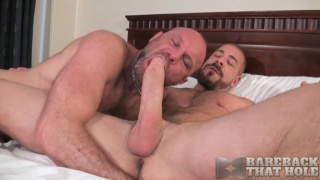rocco steel fucks chad brock with his 10x7 cock