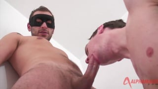 masked stud totally turned on by this swedish cock