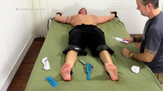 Tall Tattooed Hunk Tobias Gets Tickle Tortured