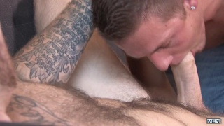 hot as hell's kitchen starring Christian Wilde & Cody Avalon