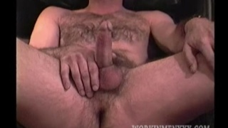 masculine man loves having his dick sucked by another guy