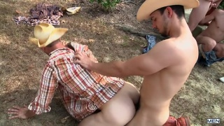 Brenner Bolton and Dakota Wolfe bottom for three cowboys
