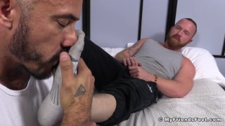 Red and Alessio Romero Worship Each Other's Feet