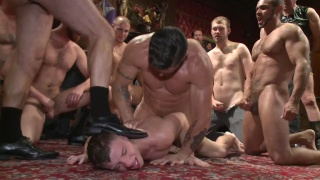 trenton ducati fucks doug acre's ass in a gang bang