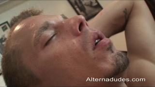 tristian blows his hot straight neighbour