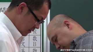 Japanese men sucking each other's cocks