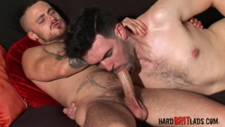 irish lad tom long stuffs his fat dick in sam bishop's ass