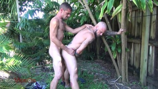 outdoor raw fuck on a hot day