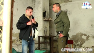 new prisoner gets a beating from the guard