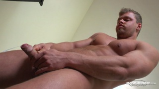 blond hunk fucks a fleshjack and cums