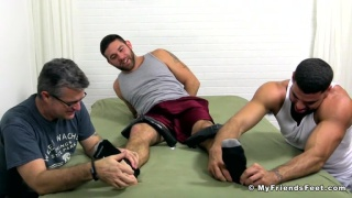 Rickly Larkin Helps Me Tickle Torture Cute Cub Seth