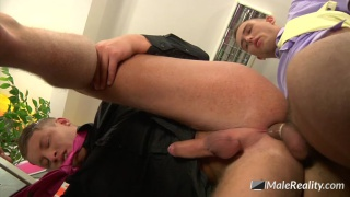 office twinks with Martin Love & David Road