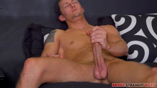 fan of broke straight boys jacks off in his own video