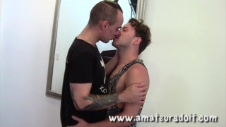 Timothy and Alehandro Italian Double Fuck Part 2