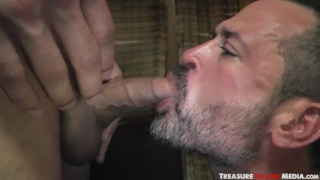Dylan Strokes gets deep blowjob from Will Swagger