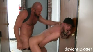 Raw Spit Fuck with matt stevens and deviant otter