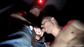 Pierced punk gets his horny hole used