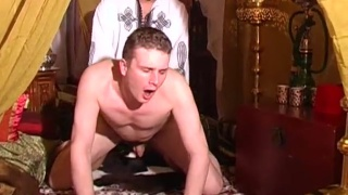 Top Arab man fucks hard his bottom slave