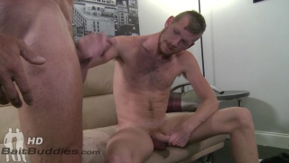 Straight muscle hunk Peter fucks Billy Warren