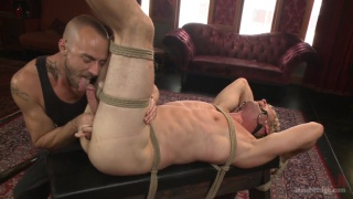 french-canadian Daniel Lament gets his dick edged