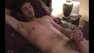 handsome guy jimmy beating off