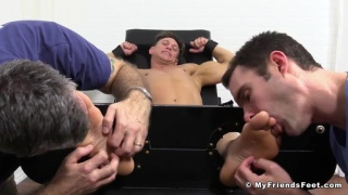 tickle worshiped with Bryce Evans
