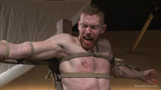 Trenton Ducati and Cass Bolton in the dungeon