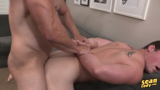 Hung muscle top Randy Pounds Forrest Bareback