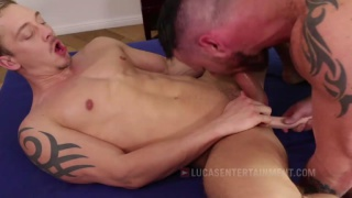 Sergeant Miles Takes Michael Lachlan's huge dick