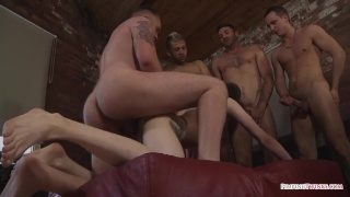 james lewis gets his hot young arse gang banged