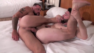 Sean Duran pounds Jackson Fillmore hard and deep