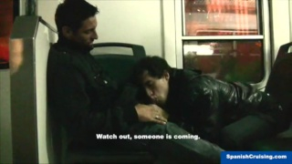 Rokko gets dick sucked at train station