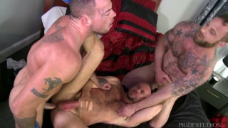 Special Massage with Sean Duran, Matt Stevens and Derek Parker