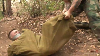 Mercilessly Fucked in the Woods with Trenton Ducati and Tyler Rush