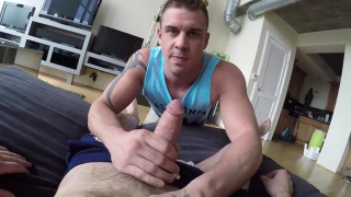 Neighbor's POV helping hand with Sean Cross and Darin Silvers
