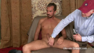 colby has to take over this handjob to blow his load