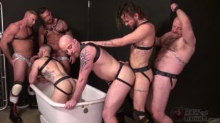 Piss Tub Orgy with Aarin Asker and Lukas Cipriani