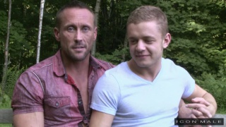 Real Couples Bareback with Myles Landon and Ian Levine